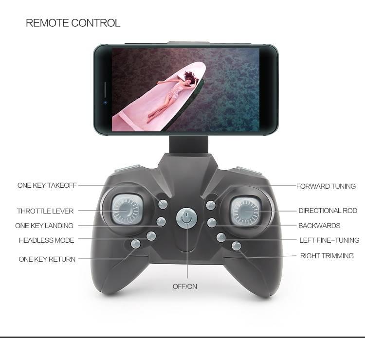 Foldable Mini Drone With RC Quadrocopter Camera Gadkit 3 Foldable Mini Drone With RC Quadrocopter + Camera
