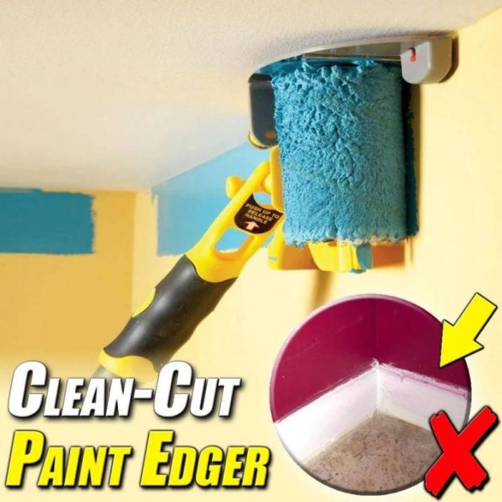 H9d62498dfeab4c169caee6eb7d72da31v Clean Cut Paint Edger Roller Brush
