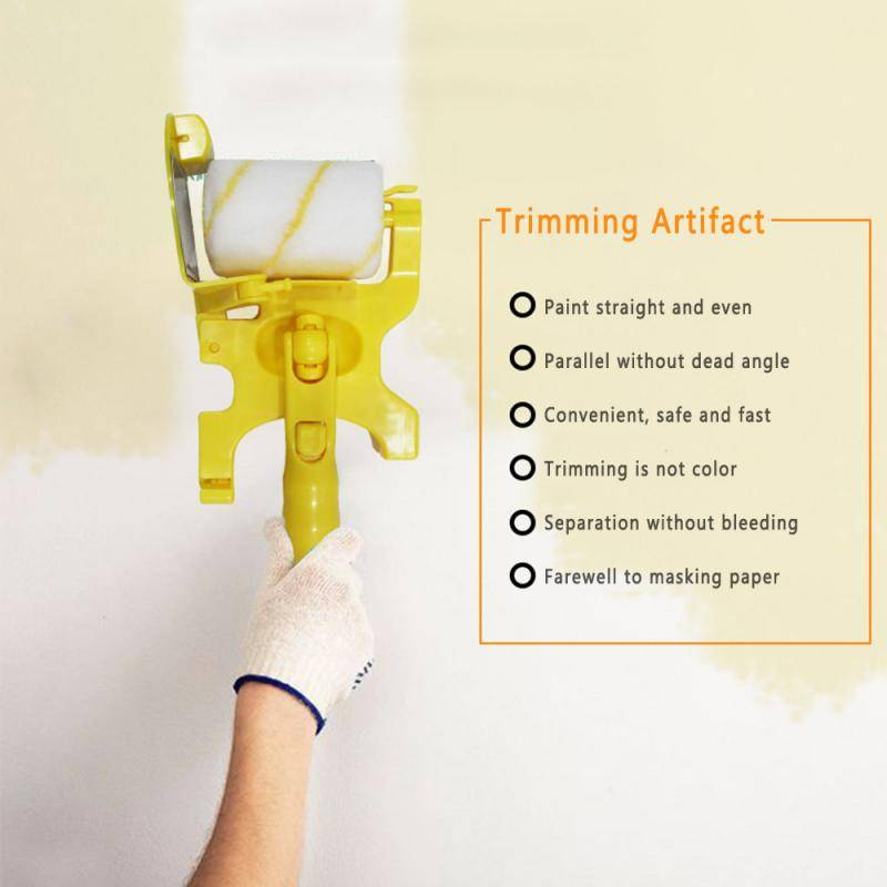 He715ed6b5f564c9ba2eb6c8dbf826f55M Clean Cut Paint Edger Roller Brush