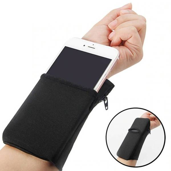 Wrist Wallet with Phone Pocket Gadkit