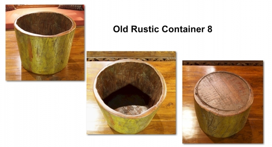 Old Rustic Container 8