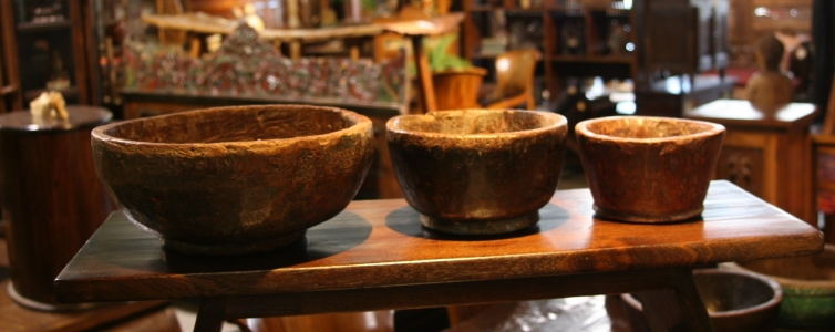Old Rustic Bowl 1