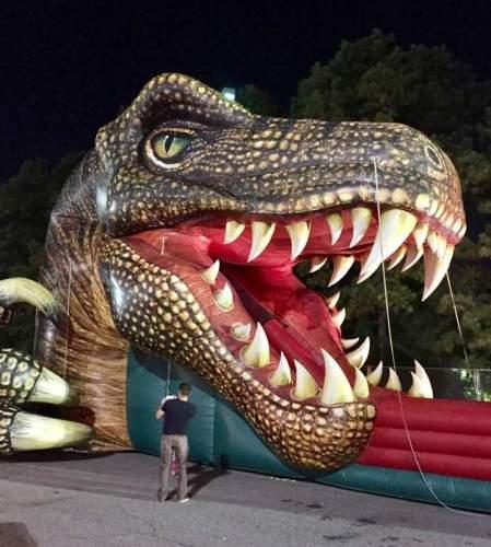 Atlanta International Night Market - Kid's Slide and Fun House