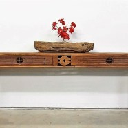 Long Narrow Artisan Console Table