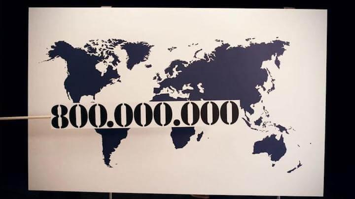 Weltweit sind 800 Millionen Menschen von der genossenschaftlichen Idee ueberzeugt | © Volksbanken Raiffeisenbanken