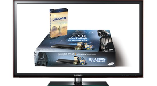 Pack Smart TV de Star Wars de Samsung