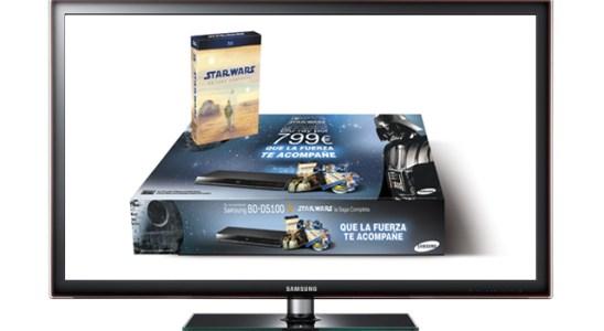 Pack Smart TV de Star Wars de Samsung