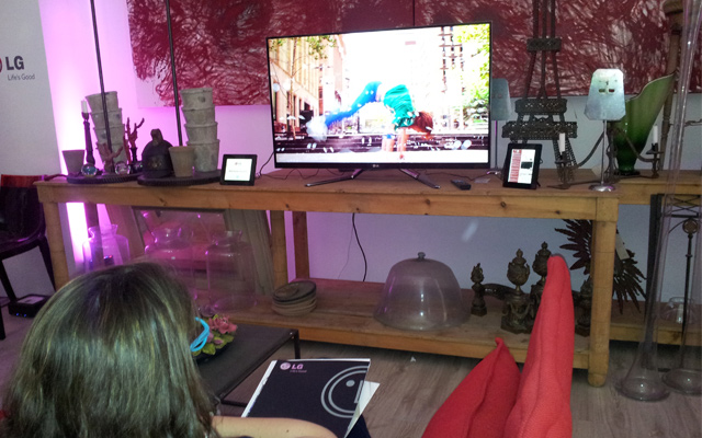 Cinema 3D Smart TV de LG con triple procesador