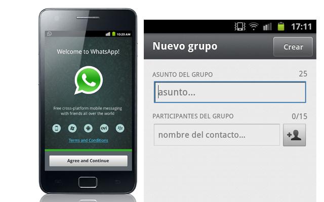 Cómo crear grupos en Whatsapp