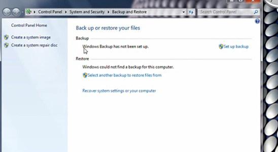 Copias seguridad Windows