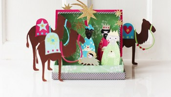 Decoración navideña vintage en Maison Artist.