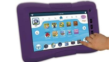 La tableta Clan/Kurio con contenidos exclusivos de Clan TV.