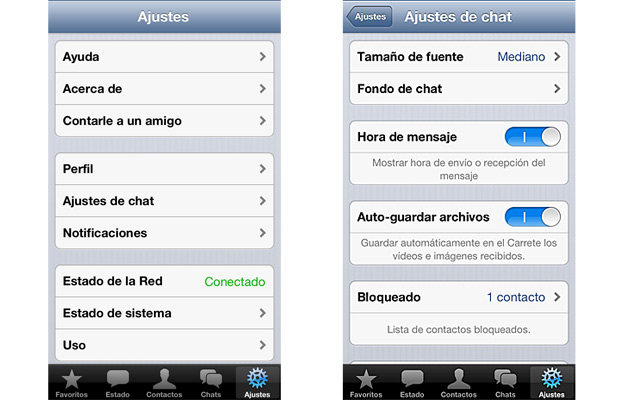 Whatsapp ocultar fecha