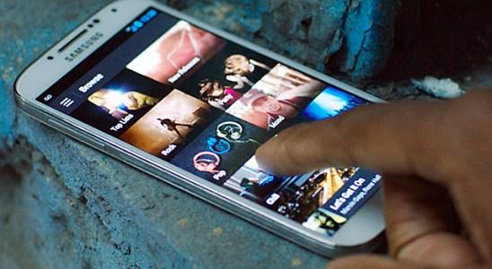 Spotify móvil Samsung
