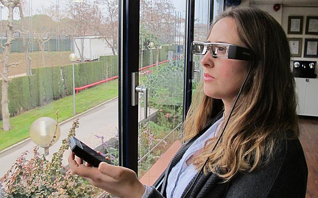 Epson gafas Moverio