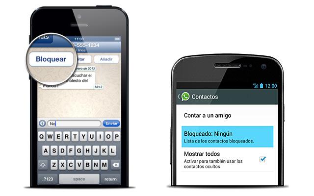 ¿Puedo enviar mensajes de Whatsapp a quien me ha bloqueado?