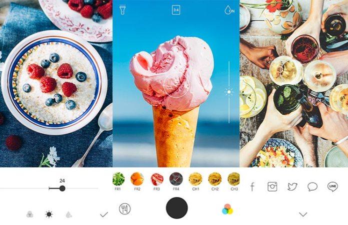 Foodie app Line