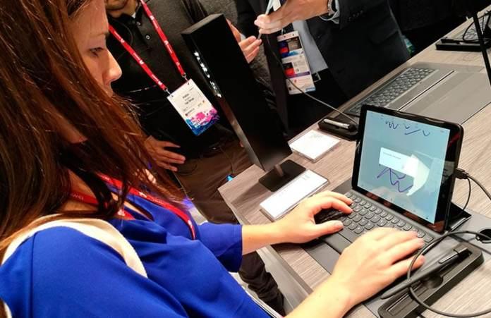 Tablet Samsung Galaxy Tab S3 en el MWC