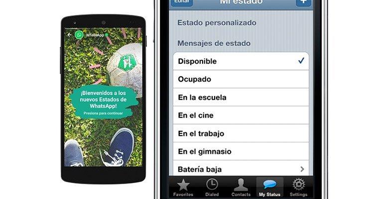 WhatsApp recupera los antiguos estados