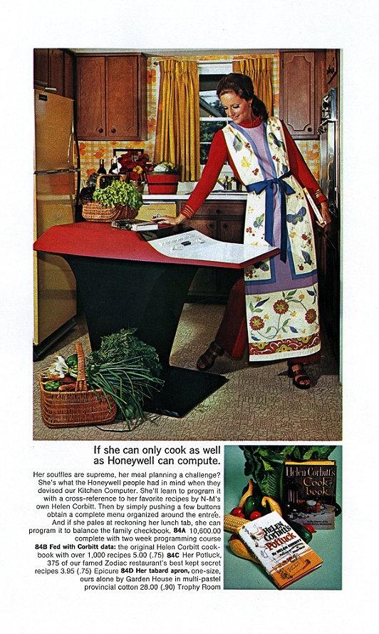 Kitchen computer honeywell