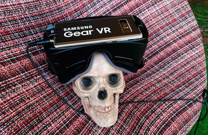 Realidad virtual de Samsung en Sitges