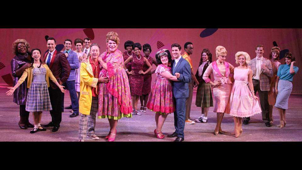 The cast of Hairspray at Music Theatre Wichita