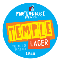 Porterhouse Temple Lager