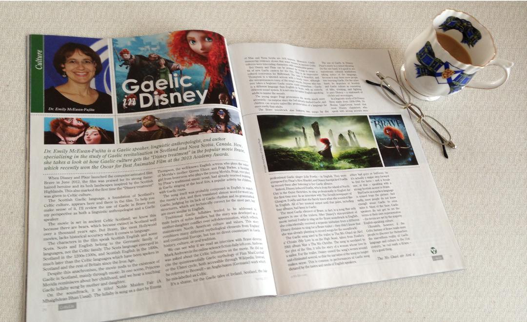 """Gaelic in Disney/Pixar's """"Brave"""""""