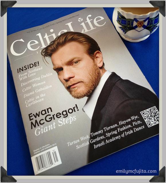 Celtic Life Magazine cover