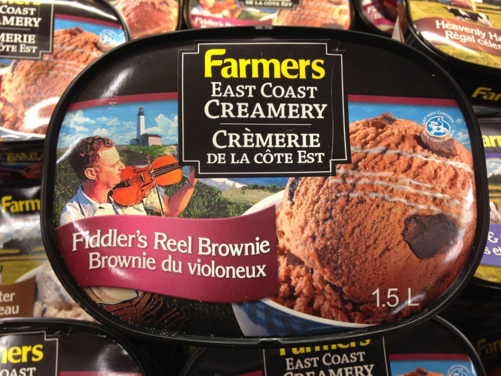 Fiddler's Reel Brownie Ice Cream