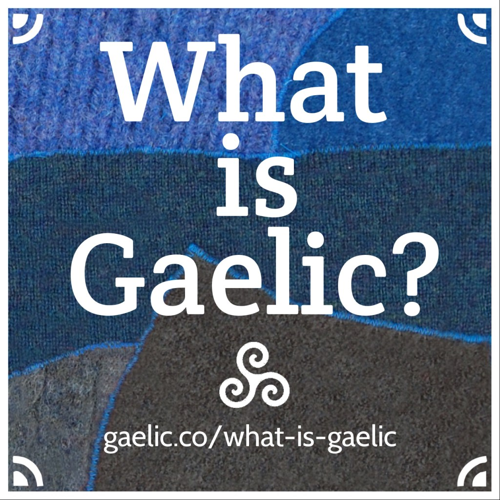 What is Gaelic infographic