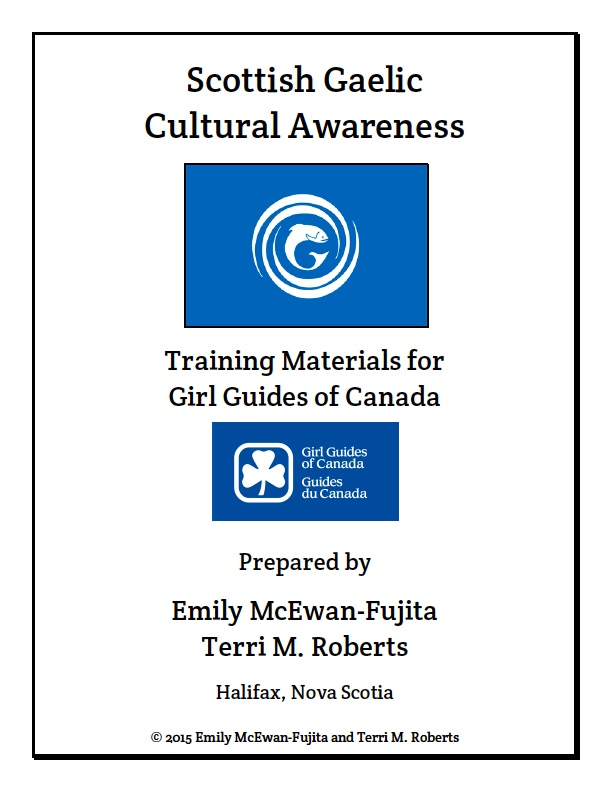Gaelic Awareness Training Materials - Title Page