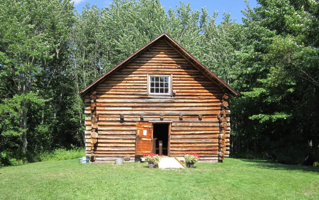 Log Cabin Church, Loch Broom, Pictou County, Nova Scotia