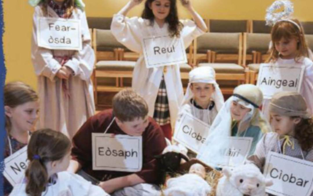 A Gaelic Nativity Play