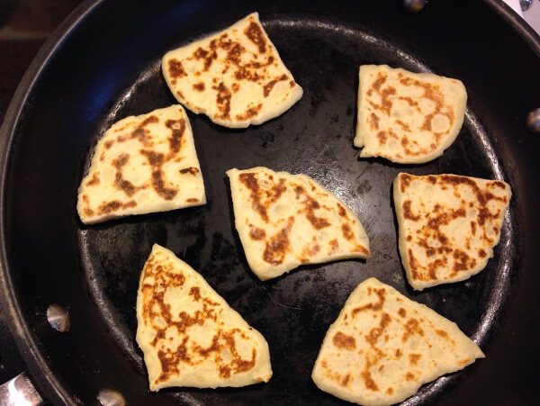 The tattie scones turned out great!
