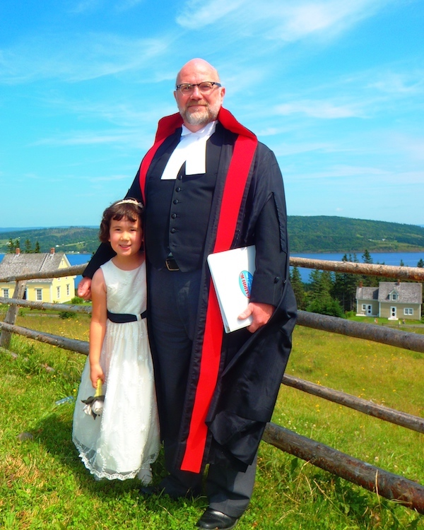 Judge Jamie Campbell and my daughter