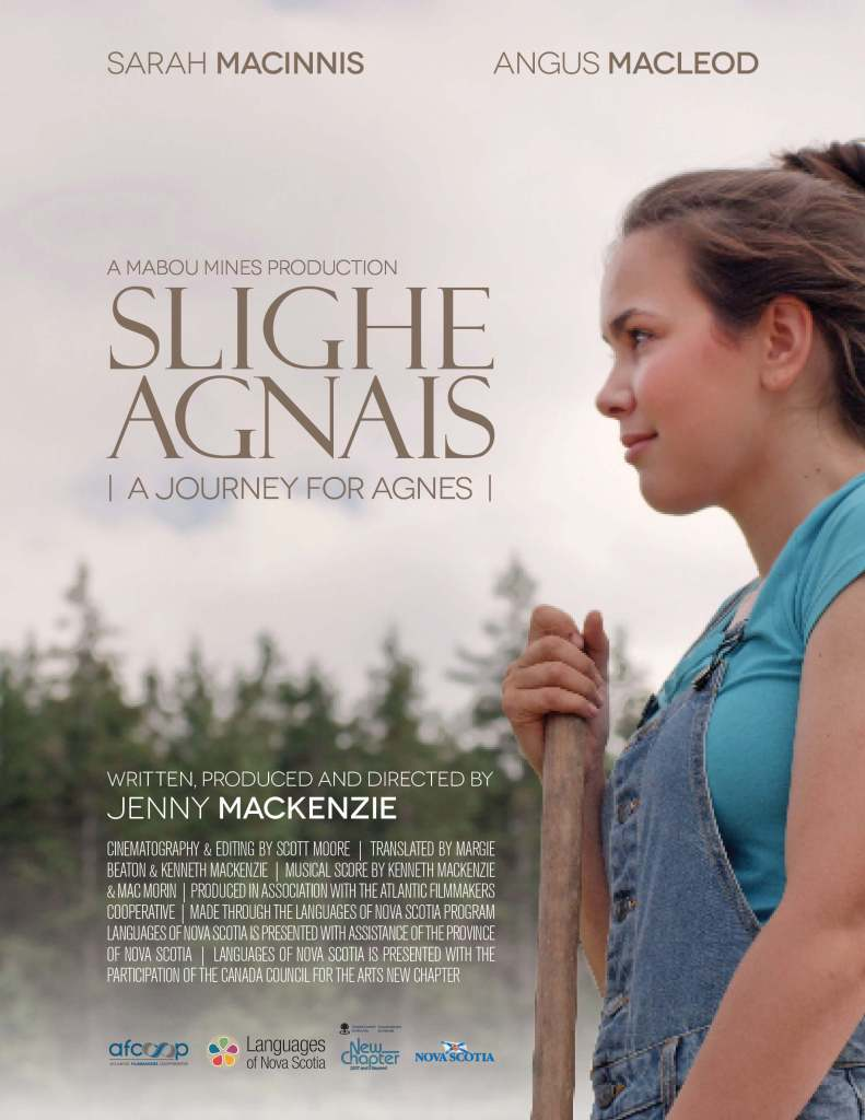 """Slighe Agnais - A Journey for Agnes"" film poster"