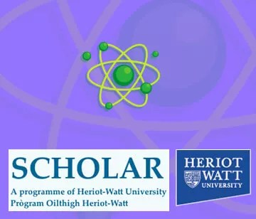 A partnership with Heriot-Watt University comprising 10 science units suitable for Level 3