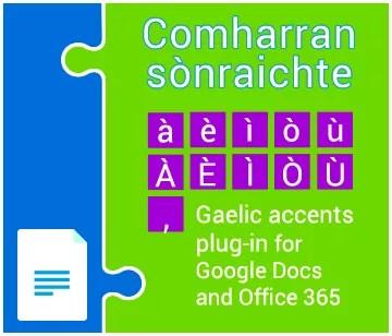 Gaelic Accents Plugin