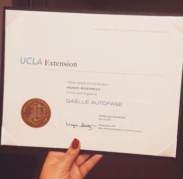 UCLA Music Business