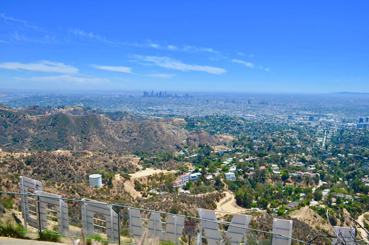 Randonnée au Hollywood Sign