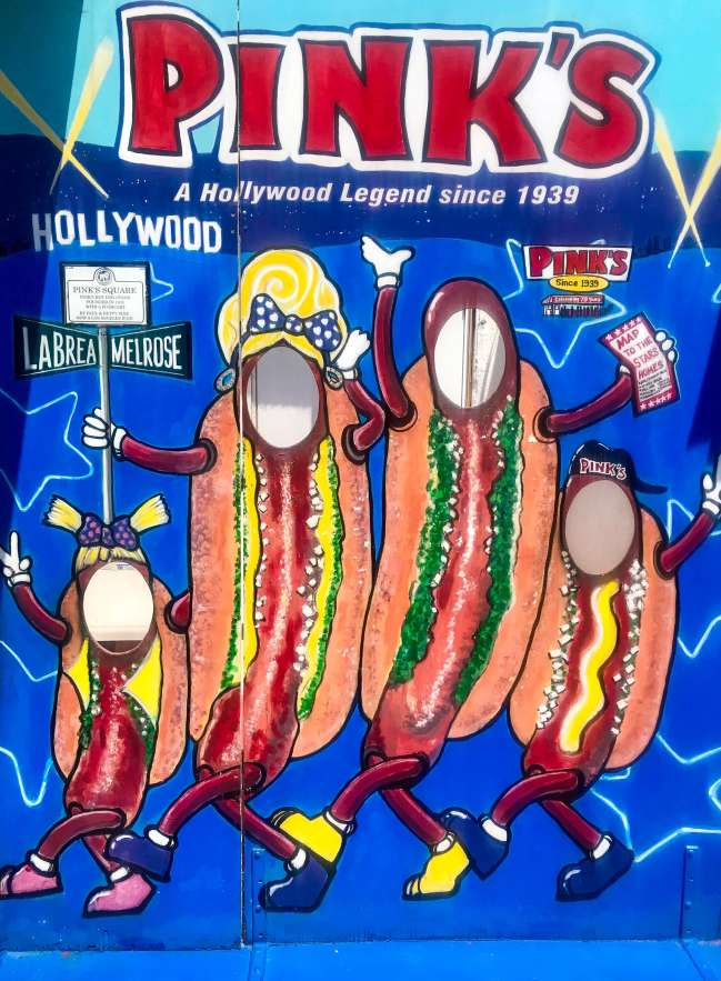 Pink's Hot Dogs
