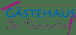 Logo Gästehaus Im Unnerdorf