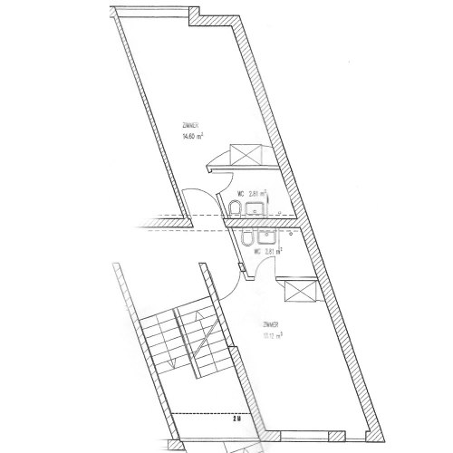 Gästehaus Im Unnerdorf Plan Doppelzimmer