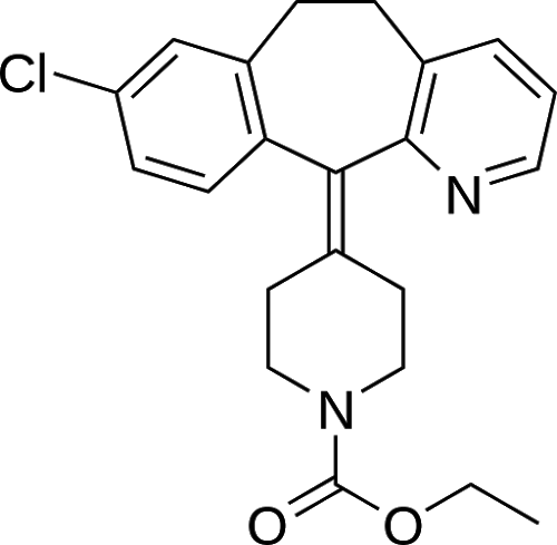 Loratadine: Reduces the effects of natural chemical histamine