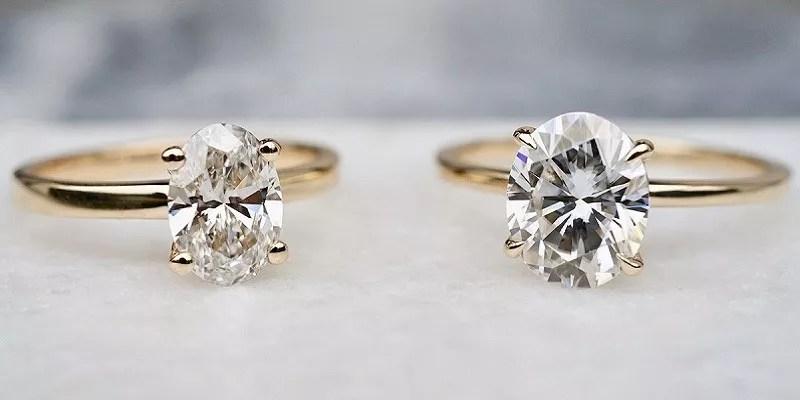 Moissanite vs Diamond – Which Option Best For Engagement Ring?