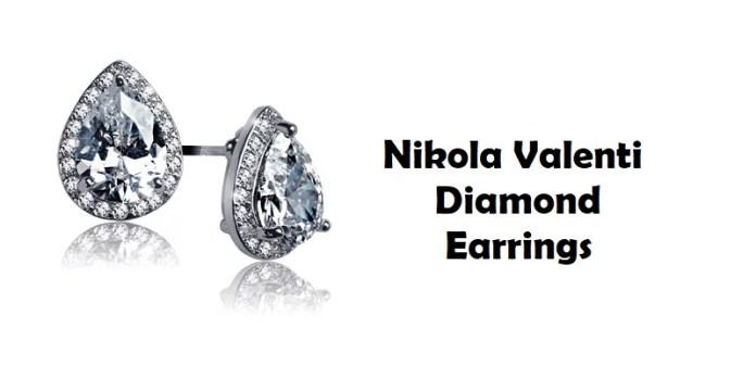 Nikola Valenti Discusses Diamond Studded Earrings
