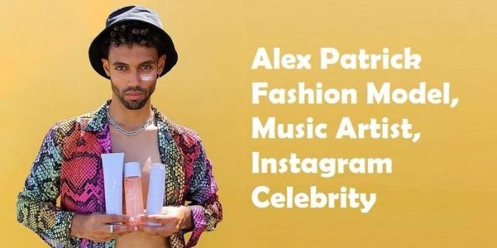 Alex Patrick Fashion Model