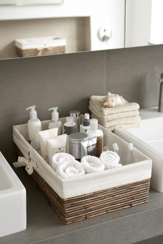 organiser sa petite salle de bain