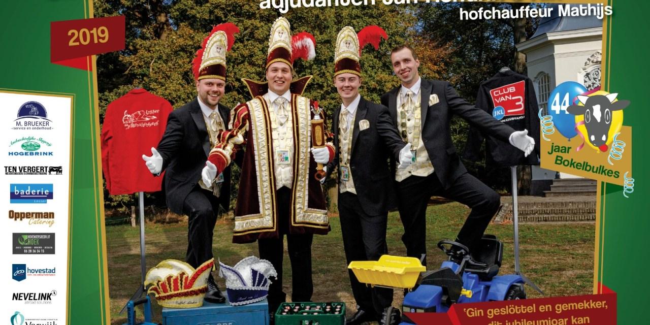Graaf Mathijn I, adjudanten Jan-Hendrik & Rik, cv De Bokelbulkes